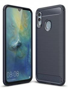 Etui case carbon Huawei P Smart 2019