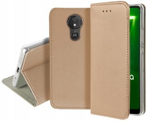 Kabura Smart Motorola Moto G7 Power złoty