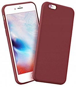 Etui Pudding iphone 6 4,7 cala burgundowy