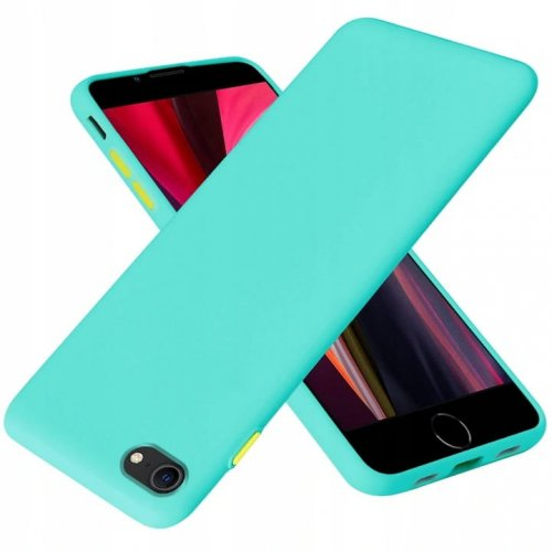 Iphone 7 solid case mietowy.jpg
